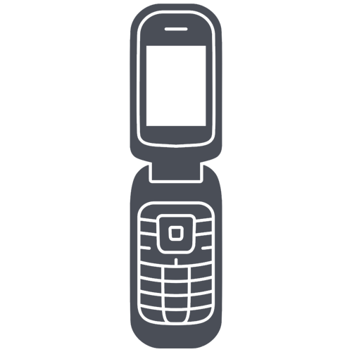 Clam Shell or Flip Phone